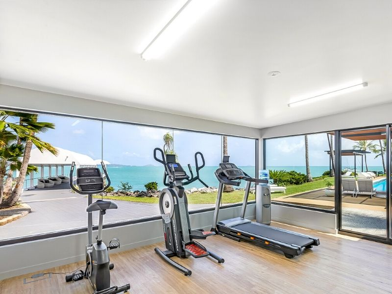 Fitness Room at Coral Sea Resort Hotel