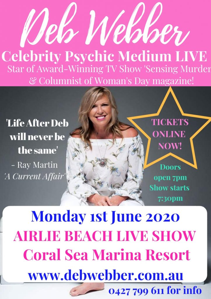 Airlie Beach Live Show Poster Deb Webber
